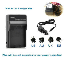 Battery Charger for Panasonic Lumix DMC-ZS35 DMC-ZS40 DMC-ZS45 DMC-ZS50