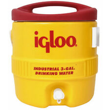 3 Gallon Igloo Industrial Yellow Water Cooler - 431