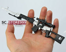 SVD Snipe Rifle Toy Action Figure 1/6 Scale Weapon Model Military Collection
