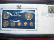 Cook Islands 1981 Royal Wedding Collection Proof Coin Set Commemorative cover