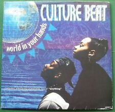 """Culture Beat World in Your Hands 33rpm 12"""" Single"""
