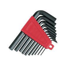 10 Pezzi 1/16 inch-3 / 8 Pollici Hex / Allen KEY Imperial Set-Storage Clip