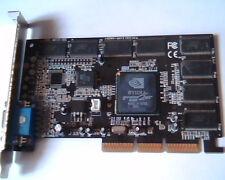 AGP card Nvidia GeForce 2MX 6412 Ver 1.0 400 62MB G03-4013-HG MX400 GF2 SDR VGA