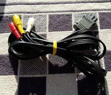 Original Nintendo televisor TV cable cinch n64, SNES, Game Cube