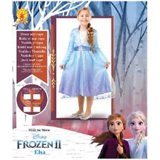 Costume Bambina Carnevale Principessa Elsa FrozenII Disney - varie taglie