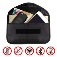Signal Blocking Bag Shielding Pouch Wallet Case for Cell Phone Card Car Key