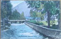 Missoula, MT 1910 Postcard: The Rattlesnake - Montana Mont