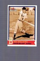 2001 Fleer Red Sox 100th TED WILLIAMS #9 Boston Red Sox Baseball Card