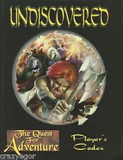 Undiscovered: The Quest for Adventure RPG Players Codex *FS