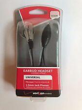 NIB-Wholesale-Lot-6x-Verizon-Jabra-OEM-Earbud-Headset-2-5mm-Clear-Answer-End  N