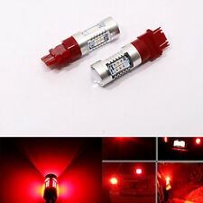 2x 3157 3156 Pure Red High Power 21 SMD 12V LED Brake Tail Lights Bulb lamp