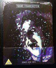 YOUNG FRANKENSTEIN Blu-Ray SteelBook Comic Con 2014 Gene Wilder 1/1000 B&W Rare!