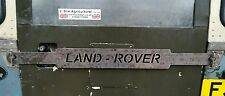Land Rover series 1 2 3 Back rear door security bar Lock . CNC Cut JSA