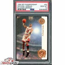 1994-95 SP Championship Michael Jordan Playoff Heroes PSA 10 #P2
