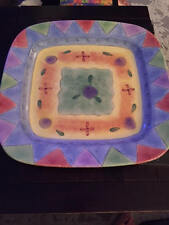 The Sweet Shoppe Ceramic Platter (by Sango) - 16X16 inches