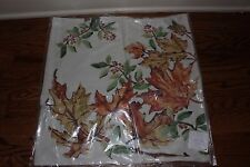 """NWT Pottery Barn Maple Leaf 20"""" pillow cover harvest thanksgiving fall tree"""