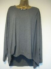 MarlaWynne grey baggy oversized top size 2X