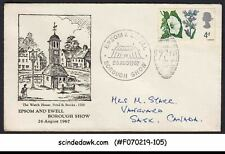Great Britain - 1967 Epsom & Ewell Borough Show Cover With Sp. Cancl.