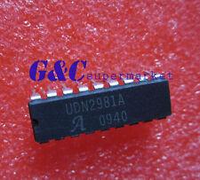 10PCS UDN2981A UDN2981 IC SOURCE DRIVER 8CHAN 18-DIP NEW GOOD QUALITY D6