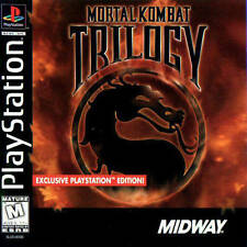 Mortal Kombat Trilogy PS1 Great Condition Fast Shipping