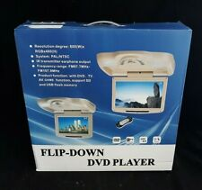 In-Car 12.1'' Flip-Down Monitor with Built-In DVD Player - Black - Boxed