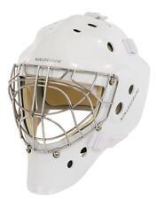 New Vaughn 7700 Cat Eye goal helmet white senior large Sr ice hockey goalie mask