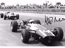 ALAN Rees firmato Cooper 9x6 F1 T81-MASERATI, British GP SILVERSTONE 1967
