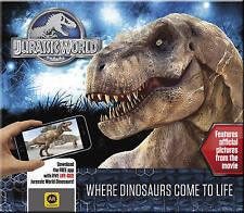 Jurassic World Where Dinosaurs Come to Life NEW by Caroline Rowlands (Hardback)