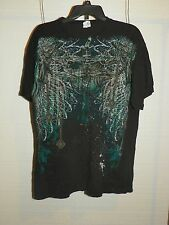 Black Short Sleeve Size XL Men's Graphic T-Shirt Celtic Cross