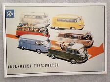Volkswagen -Transporter Post Card 1st On eBay Car Postcard. Own It!