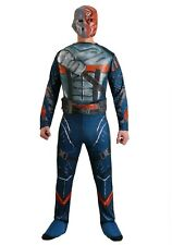 ADULT DELUXE DEATHSTROKE BATMAN COSTUME SIZE MEDIUM (with defect)