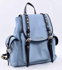 MICHAEL KORS Women's LEILA Small Pale Blue Nylon Backpack
