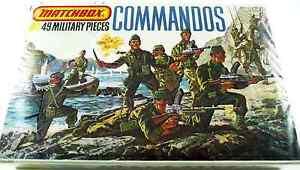 Matchbox #P-5006 1/76 WWII British Commandos - mint in sealed box