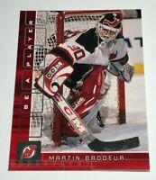 Martin Brodeur /200 made BAP Ruby Insert Parallel Hockey Card 40 Devils