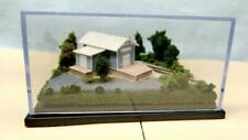 Z SCALE -STATION SCENE #1  DIORAMA DISPLAY CUBE -FOR ALL Z TRAINS             N4