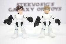 Playskool Star Wars Galactic Heroes Luke Skywalker Han Solo Stormtrooper disguis
