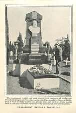 1906 Ex-president Kruger's Tombstone At Pretoria