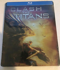 Clash of the Titans (Blu-ray Disc, 2013) SteelBook Free Shipping