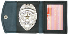 Abzeichen Etui Geldbörse Dienstausweis Hülle Aufbewahrung Dokumente Security