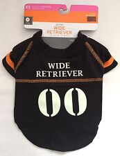 Wide Retriever Halloween Football Costume Size XS Glow in the Dark FitsNeck 6-9""