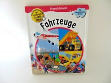 Fahrzeuge Kinderbuch Sehen & lernen! Buch abwischbar Bilderbuch Autos