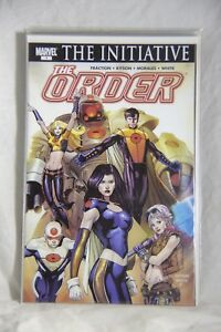 Marvel Comic The Order Issue #1 The Initiative