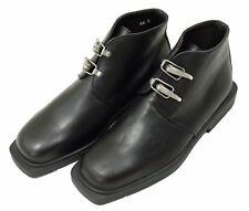 Bis Charles Jourdan Mens Size 6.5 E Black Leather Shoes