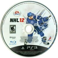 NHL 12 Sony PlayStation 3 PS3 Game Only