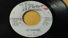 """SLIM SMITH - ITS's ALRIGHT/THE TIME HAS COME /Reggae 7"""" on  GAYFEET Label"""