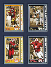 2006 PRESS PASS SE OLD SCHOOL COLLECTOR'S SERIES FOOTBALL ROOKIE CARD SET