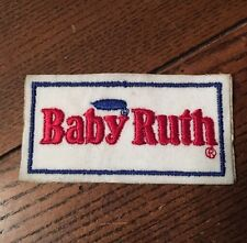 Advertising Patch ~ BABY RUTH CHOCOLATE CANDY BAR - Vintage
