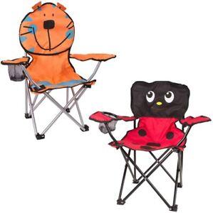 Kids Children Folding Foldable Picnic Beach Camping Garden Fishing Chair