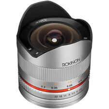 Rokinon 8mm F2.8 UMC Fisheye II (Silver) Lens for Sony E-Mount (NEX) Cameras