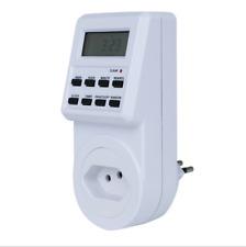Timer Switch Socket Digital LCD Power Energy-saving Plug-in BR Socket 230V 13A